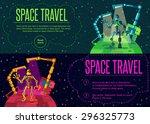 robots planet. this vector...   Shutterstock .eps vector #296325773