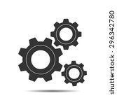 gear | Shutterstock .eps vector #296342780