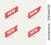 sign new. vector. | Shutterstock .eps vector #296366030