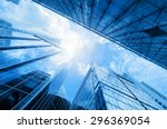 common modern business... | Shutterstock . vector #296369054