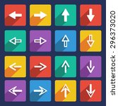 modern  flat  colorful  arrows...
