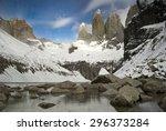 Постер, плакат: Torres del paine granite