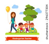 Young Kindergarten Teacher...