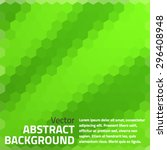 abstract green light template... | Shutterstock .eps vector #296408948