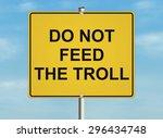 Internet Troll Issue. Road Sig...