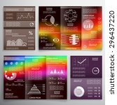infographic elements  brochures ... | Shutterstock .eps vector #296437220