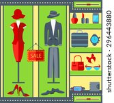 the modern concept of...   Shutterstock .eps vector #296443880