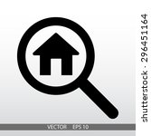 search house  icon. one of set...