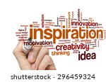 inspiration concept word cloud... | Shutterstock . vector #296459324