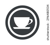 image of cup on saucer in...