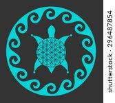 Vector Australian Style Turtle...