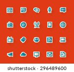 simple paper information icons
