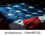 american flag  military ... | Shutterstock . vector #296498720