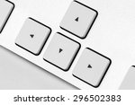 the arrows on the keyboard | Shutterstock . vector #296502383