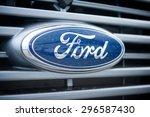 Vilnius May 9  Ford Sign Close...