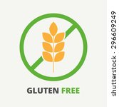 allergen symbol information for ...   Shutterstock .eps vector #296609249