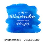 Watercolor Colorful Round Spot. ...