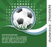 soccer vector illustration in