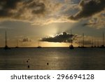 St Lucia Sunset.  A Number Of...