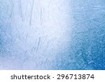 Ice Crystals Formed On The...