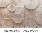 Abstract Circle Shape Of Stone...