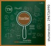 franchise concept.franchise... | Shutterstock .eps vector #296726990