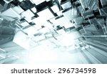 3d futuristic background | Shutterstock . vector #296734598