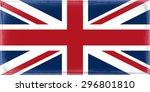 united kingdom flag | Shutterstock . vector #296801810
