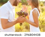 man doing on the nature... | Shutterstock . vector #296804438