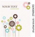 template design for greeting...   Shutterstock .eps vector #29680690
