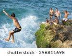havana  cuba   may  2011  young ... | Shutterstock . vector #296811698