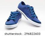 pair of new sneakers | Shutterstock . vector #296822603