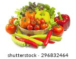 mixed collection of fresh...   Shutterstock . vector #296832464