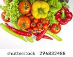 mixed collection of fresh...   Shutterstock . vector #296832488