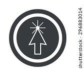 image of arrow cursor in circle ...
