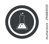 image of conical flask in...