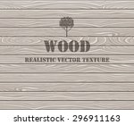 wood texture. aged oak planks... | Shutterstock .eps vector #296911163