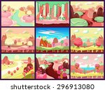 Cartoon Fairy Tale Landscape....