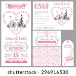 Wedding Invitation Card Set...