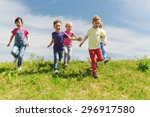summer  childhood  leisure and... | Shutterstock . vector #296917580