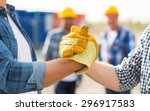 building  teamwork  partnership ...