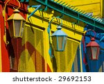 colorful detail in the... | Shutterstock . vector #29692153