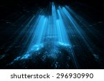 abstract futuristic background | Shutterstock . vector #296930990