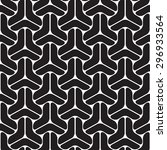 black graphic pattern vector... | Shutterstock .eps vector #296933564
