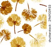 autumn leaves background. crazy ... | Shutterstock . vector #296933933