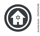 house with star of david in...