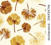 autumn leaves background. crazy ...   Shutterstock .eps vector #296934746