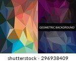 geometric patterns set.... | Shutterstock .eps vector #296938409