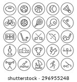 set of isolated high quality... | Shutterstock .eps vector #296955248