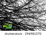 tree branches background. vector | Shutterstock .eps vector #296981570